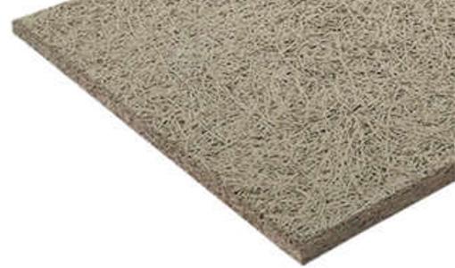 fibra di legno con cemento